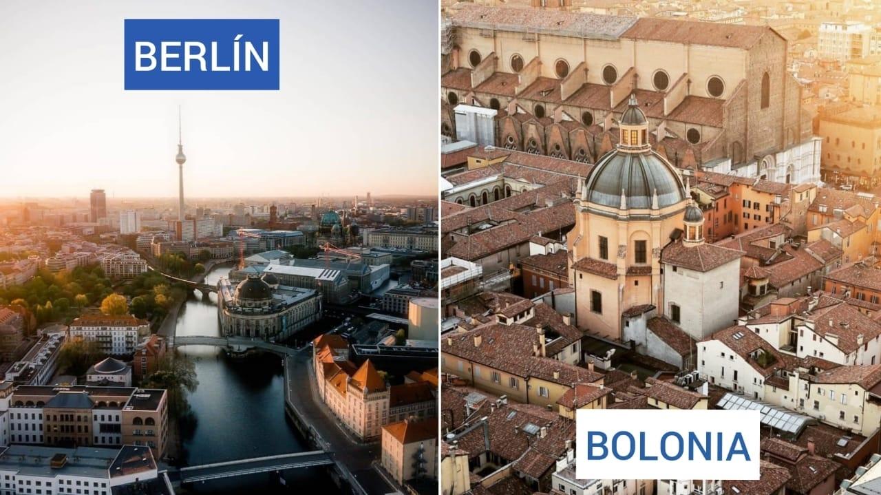Multidestino Berlín y Bolonia