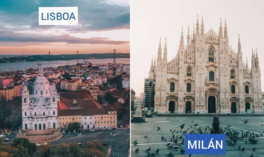 ¡Interesante Multidestino Europeo a partir de $31.800! ¡Milán + Lisboa… desde San Pablo regresando a Buenos Aires!