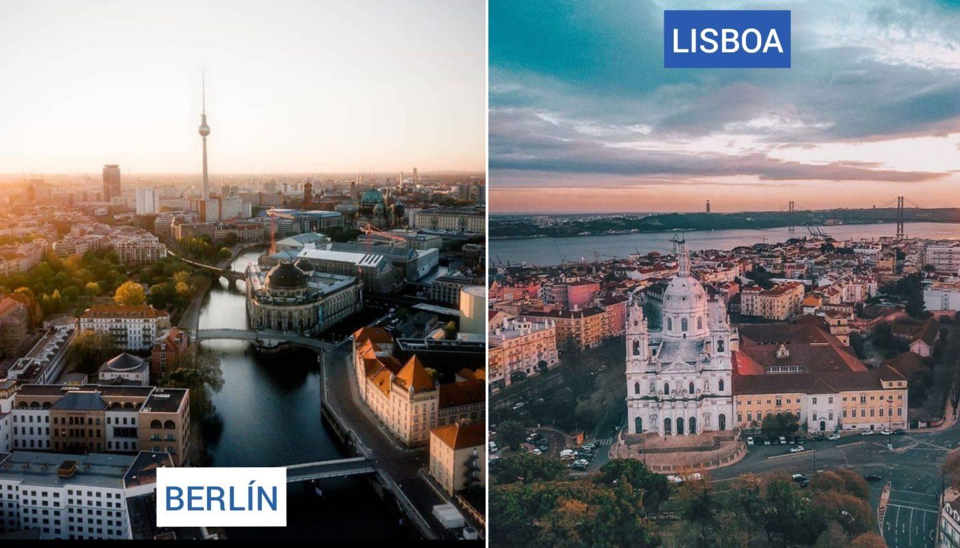 Multidestino: Berlín + Lisboa