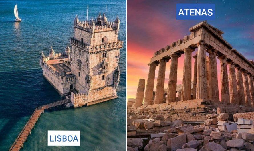 Viajá a ATENAS + LISBOA a partir de AR$35.999 desde San Pablo regresando a Buenos Aires.