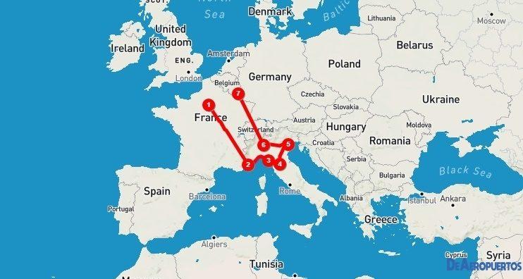 Armamos el itinerario de un viaje que aún debe esperar…