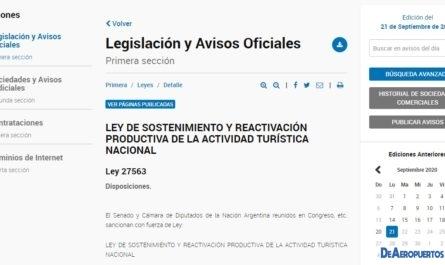 Ley Nacional 27563