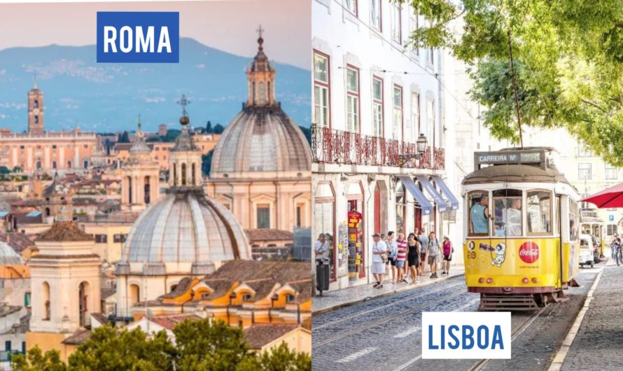Viajá a ROMA + LISBOA a partir de AR$28.500. Desde San Pablo regresando a Buenos Aires.