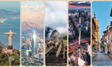 Top de 5 ciudades Sudamérica